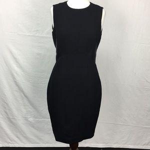 Ted Baker Black Taalid Textured Sheath Midi Dress